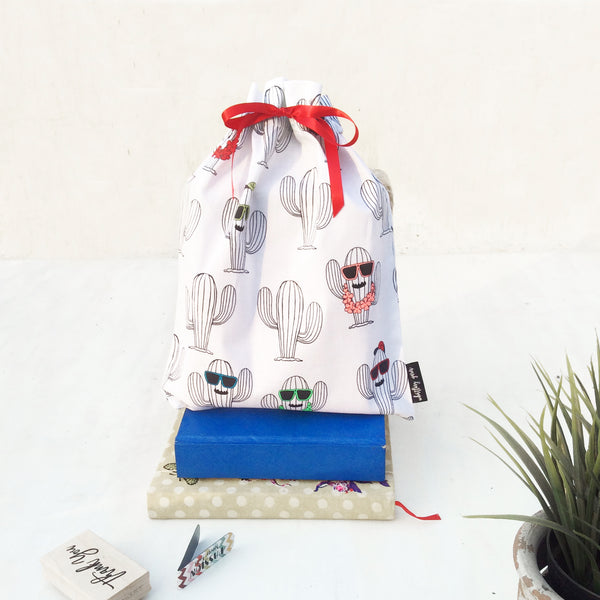 Whistling Yarns Gift Bags cactus in shades