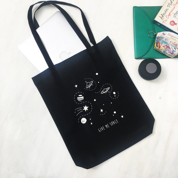 TOTE BAG {give me space}