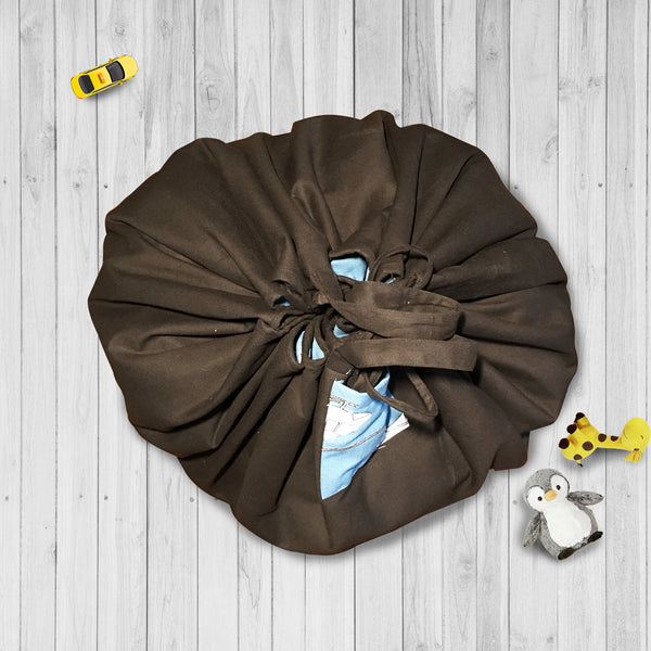 PLAYMAT CUM STORAGE BAG {fly around}