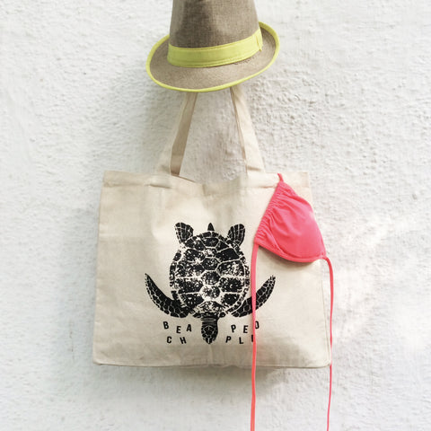 TOTE BAG {beach people}