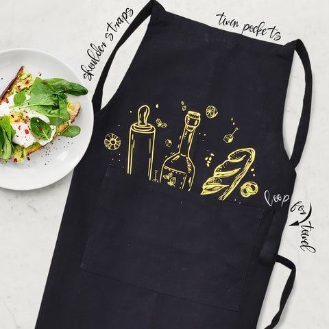 APRON {breads and more in yellow}