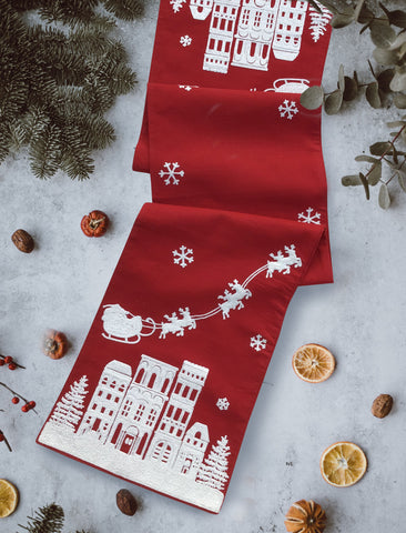 HO, HO, HO! {table runner n all}