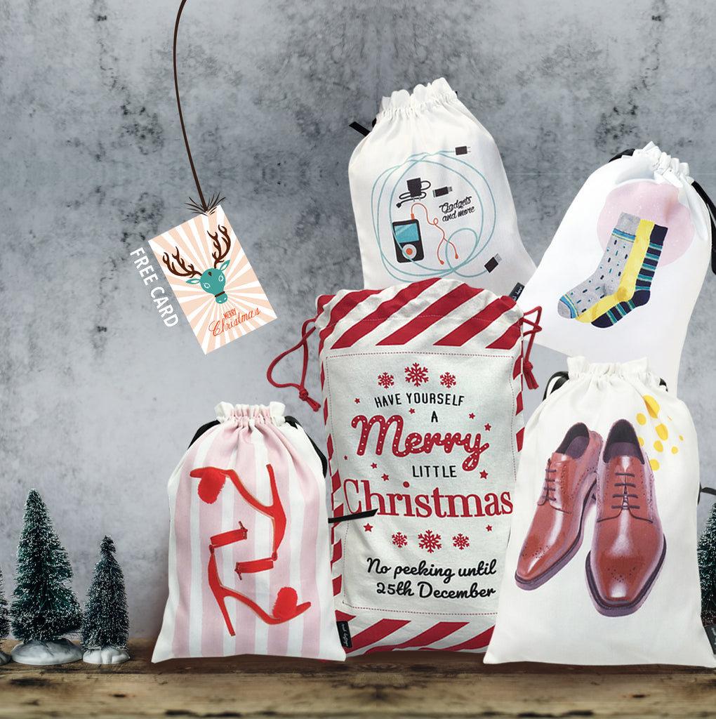 HO, HO, HO! {his & her bag of goodies}