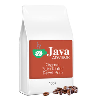 "Organic ""Swiss Water"" Decaf Peru"