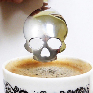 Sugar Skull Coffee Scoop