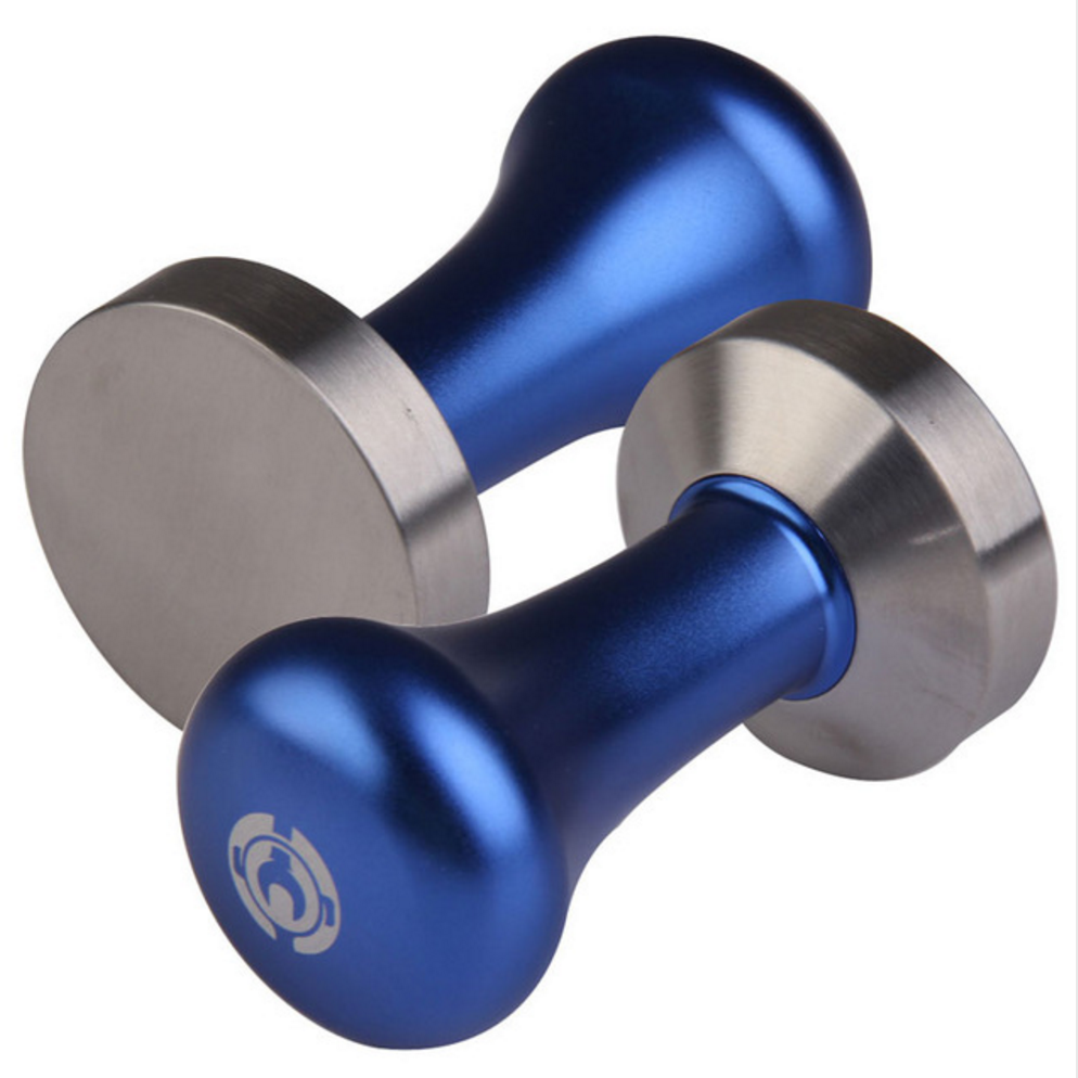 Stainless Steel Coffee Tamper Blue