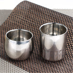 2016 Hot Coffee Mugs Double Layer Tea Cup Wine Cup Scald-proof Tea Mug Stainless Steel Cup Drinkware Kitchen Tools