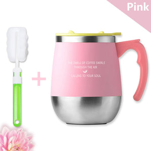 Stainless Steel Mug With Handle 450ML