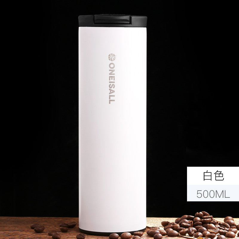 Stainless Steel Coffee Cup leak-proof and insulated 500ML