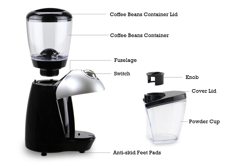 Electric Coffee Burr Grinder