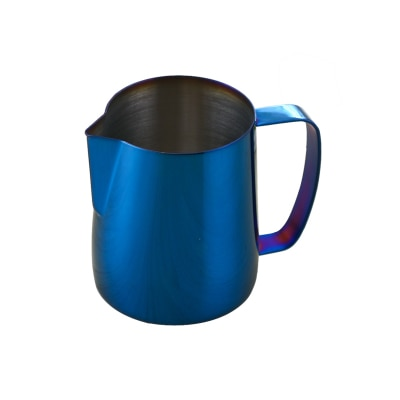 Stainless Steel Colored Espresso Coffee Pitcher