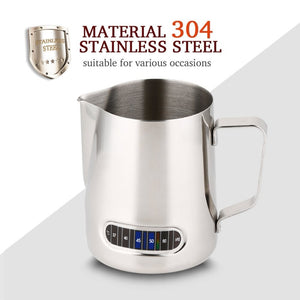 Stainless Steel Pitcher With Thermometer  600ml