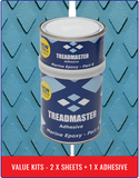 Treadmaster Diamond Pattern Value Kits