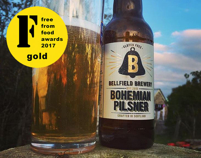 Scottish microbrewery scoops gold award for best beer at FreeFrom Food Awards