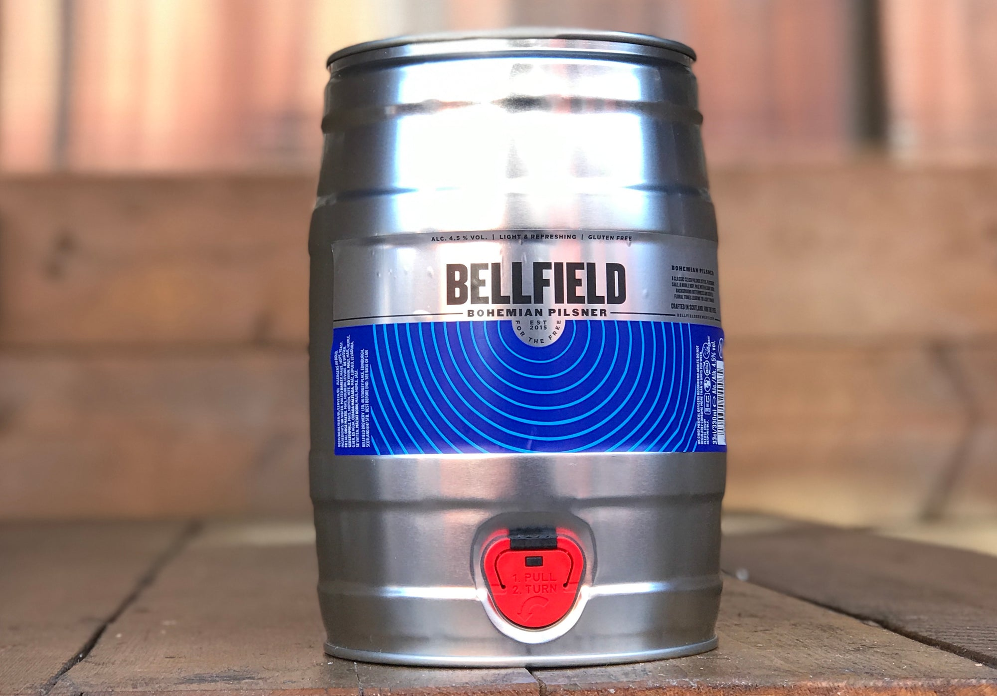 Classic, award-winning and now in a mini keg - in your fridge