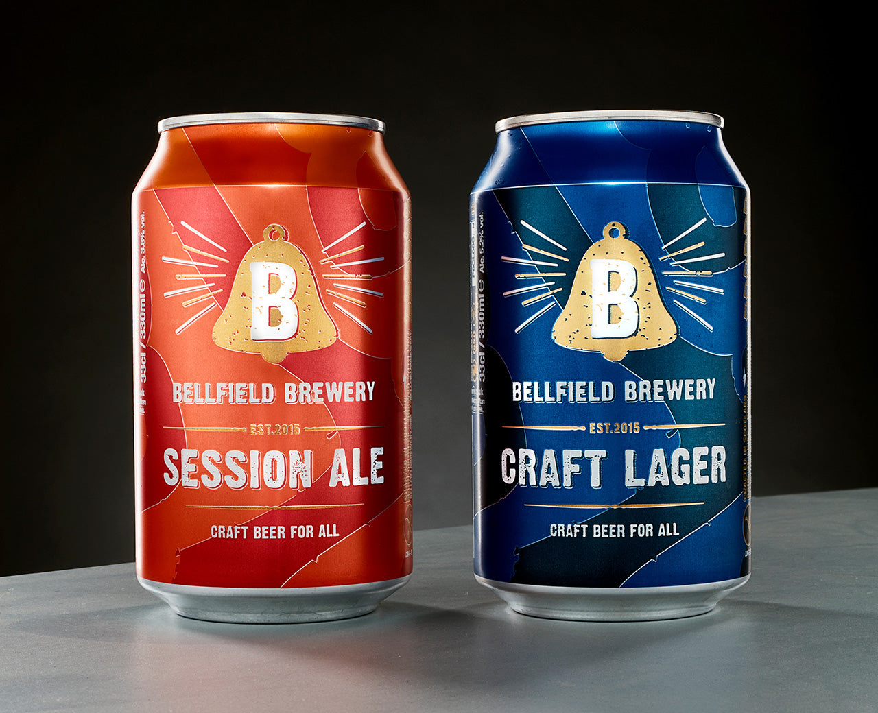 New beers out now in cans: Session Ale and Craft Lager
