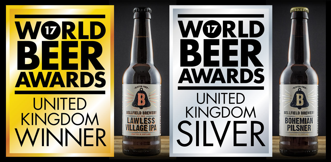 Bellfield Brewery wins at World Beer Awards