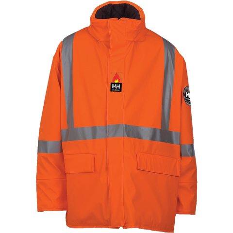 Helly Hansen FR Insulated Hopedale Parka with CSA Striping (76362) - True Safety Gear