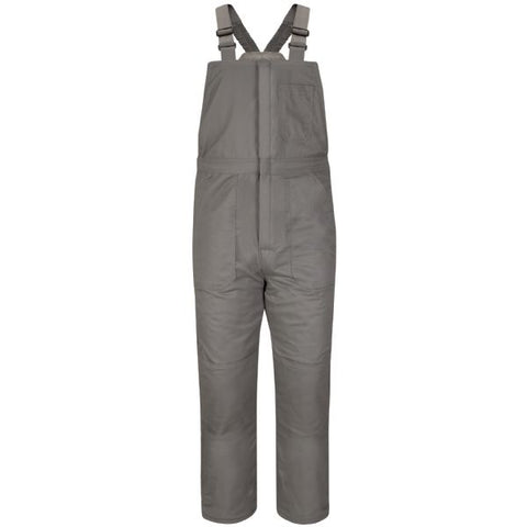 Bulwark Grey DELUXE INSULATED BIB OVERALL - EXCEL FR (BLC8) - True Safety Gear