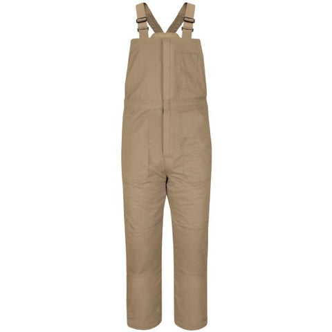 Bulwark Khaki DELUXE INSULATED BIB OVERALL - EXCEL FR (BLC8) - True Safety Gear