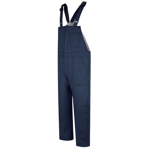 Bulwark Navy DELUXE INSULATED BIB OVERALL - EXCEL FR (BLC8) - True Safety Gear