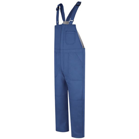 Bulwark Royal Blue DELUXE INSULATED BIB OVERALL - EXCEL FR (BLC8) - True Safety Gear