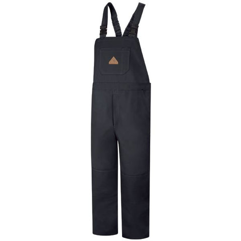 Bulwark Navy Duck Unlined Bib Overall - Excel FR ( BLF8 ) - True Safety Gear