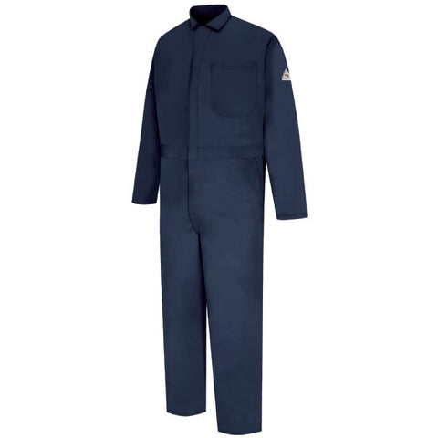 BULWARK Navy CLASSIC COVERALL-EXCEL FR (CEC2) - True Safety Gear