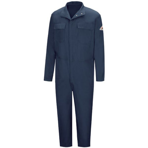 BULWARK Navy PREMIUM WELDING COVERALL - EXCEL FR (CECW) - True Safety Gear