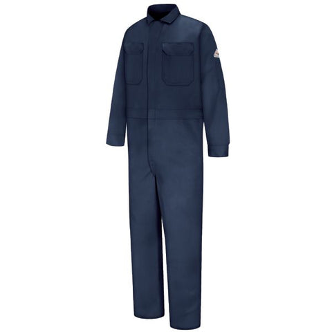 Bulwark Navy DELUXE COVERALL - EXCEL FR (CED2) - True Safety Gear