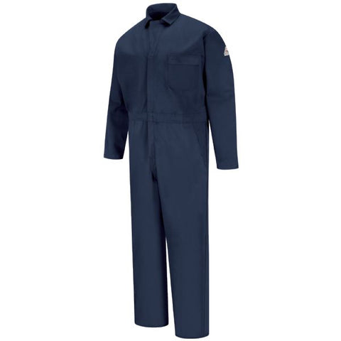 BULWARK Navy CLASSIC INDUSTRIAL COVERALL - EXCEL FR (CEH2 ) - True Safety Gear