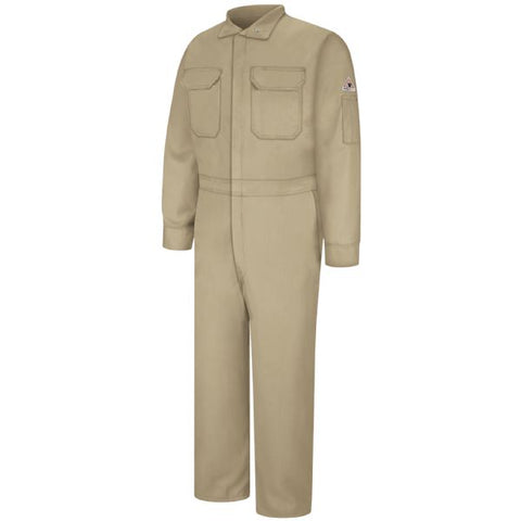 Bulwark Khaki  PREMIUM COVERALL - EXCEL FR (CLB2) - True Safety Gear