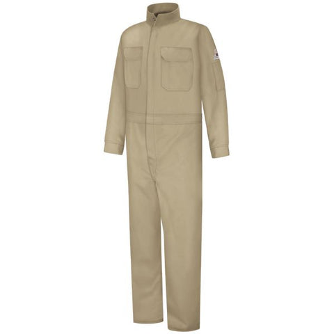 BULWARK Khaki WOMEN'S PREMIUM COVERALL - EXCEL FR (CLB3) - True Safety Gear