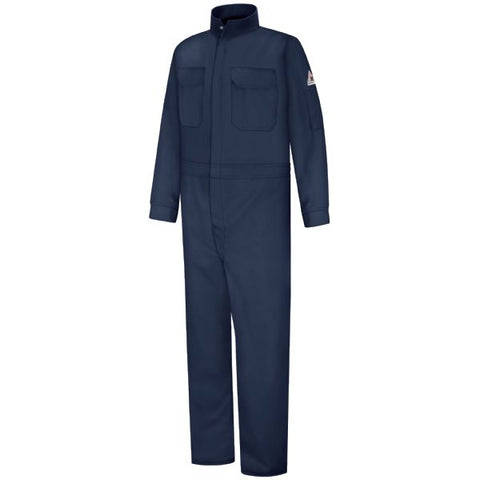 BULWARK Navy WOMEN'S PREMIUM COVERALL - EXCEL FR (CLB3) - True Safety Gear