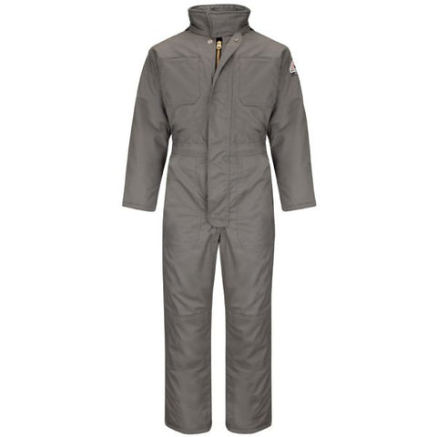 BULWARK Grey PREMIUM INSULATED COVERALL - EXCEL FR (CLC8) - True Safety Gear