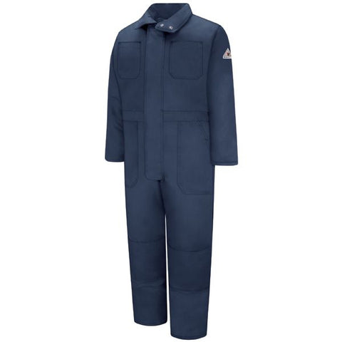 BULWARK Navy PREMIUM INSULATED COVERALL - EXCEL FR (CLC8) - True Safety Gear