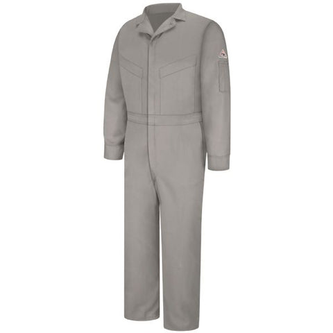 Bulwark Grey DELUXE COVERALL - EXCEL FR (CLD4) - True Safety Gear
