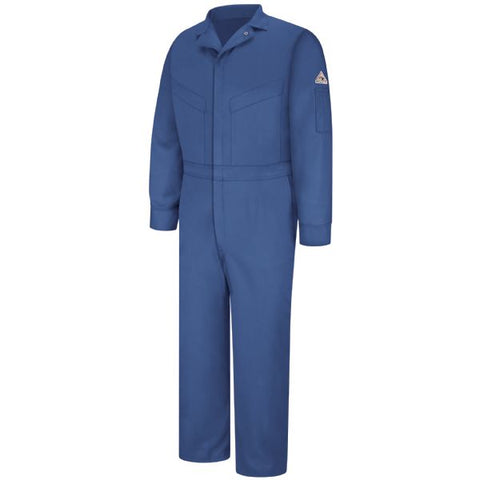 Bulwark Royal Blue DELUXE COVERALL - EXCEL FR (CLD4) - True Safety Gear