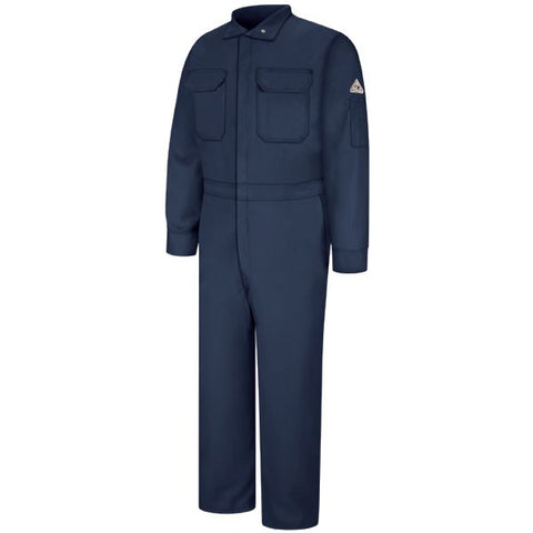 Bulwark Navy PREMIUM COVERALL - NOMEX (CNB2 ) - True Safety Gear
