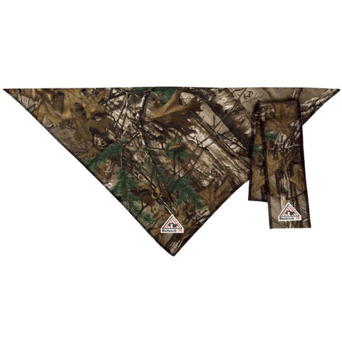 Bulwark REALTREE CAMO BANDANA & HEAD TIE - EXCEL FR COMFORTOUCH (HLB8) - True Safety Gear