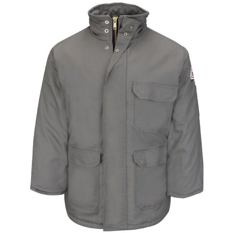 Bulwark Deluxe Parka - EXCEL FR ComforTouch - Grey (JLP8GY)