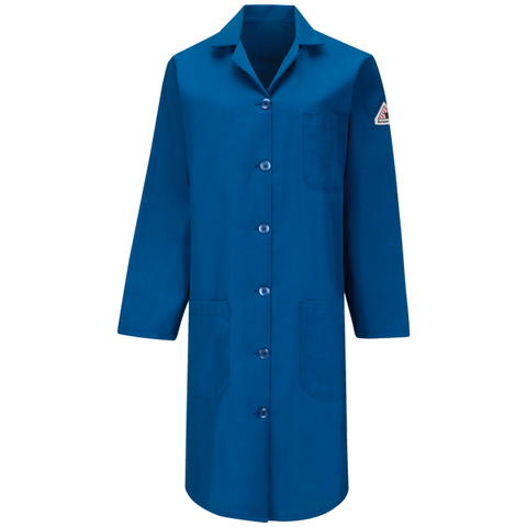 BULWARK WOMEN'S LAB COAT - NOMEX® IIIA - 4.5 OZ. (KNL3RB) - True Safety Gear