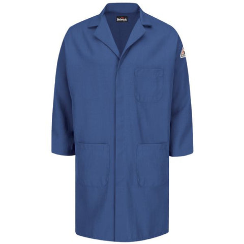 BULWARK CONCEALED SNAP FRONT LAB COAT - NOMEX® IIIA - 6 OZ. (KNL6RB)