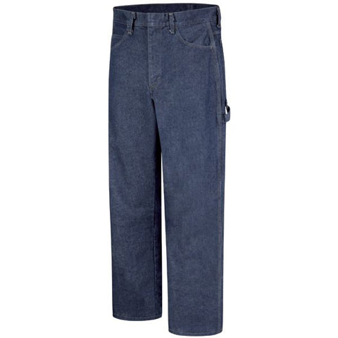 Bulwark PRE-WASHED DENIM DUNGAREE - EXCEL FR ( PEJ8 ) - True Safety Gear