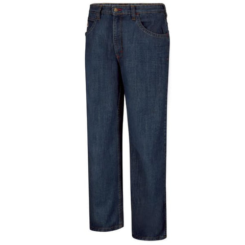 BULWARK MEN'S LIGHTWEIGHT RELAXED STRAIGHT FIT DENIM JEAN (PTJMDD)