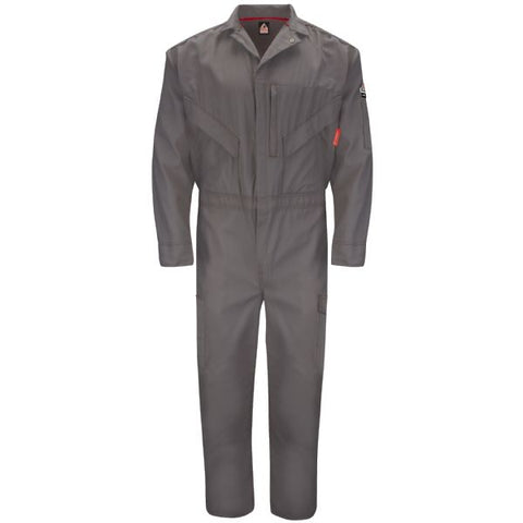 BULWARK Grey ENDURANCE PREMIUM COVERALL (QC10) - True Safety Gear