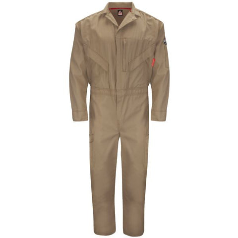 BULWARK Khaki  ENDURANCE PREMIUM COVERALL (QC10) - True Safety Gear