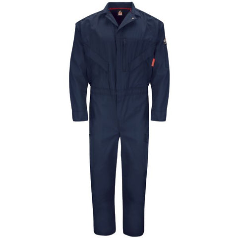 BULWARK Navy ENDURANCE PREMIUM COVERALL (QC10) - True Safety Gear