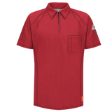 Bulwark IQ SERIES SHORT SLEEVE POLO (QT10) - True Safety Gear