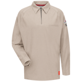 Bulwark IQ SERIES LONG SLEEVE POLO (QT12) - True Safety Gear